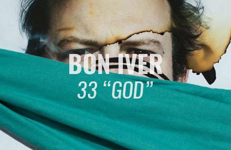 "VIDEO: 33 ""GOD"" by Bon Iver (Lyric Video)"