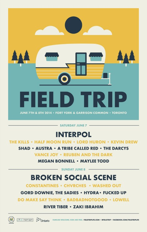 CONTEST: FIELD TRIP, June 7th-8th at Fork York & Garrison Common