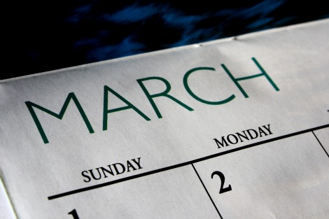 march calendar Indie Music Filter: Best of March 2013 (playlists)