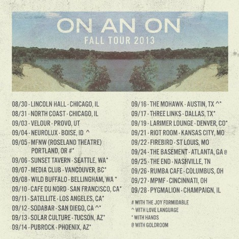 onanon tour ON AN ON Takeover IMF