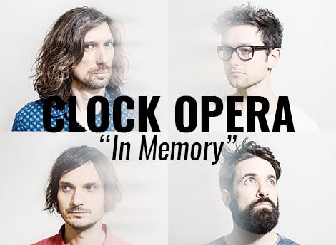 """LISTEN: """"In Memory"""" by Clock Opera"""