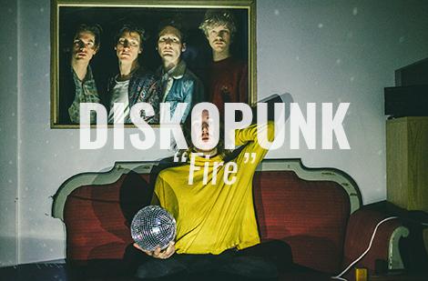 """LISTEN: """"Fire"""" by Diskopunk"""