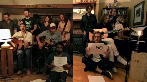"VIDEO: ""Land You Love"" by Hey Rosetta! / Yukon Blonde"