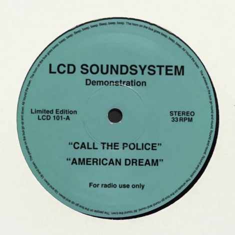 lcd soundsystem call the police