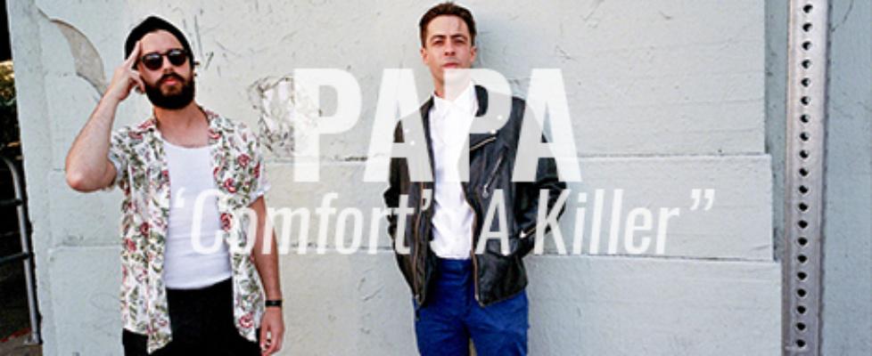 papa comforts a killer