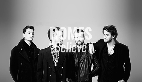 "LISTEN: ""Believe"" by ROMES"