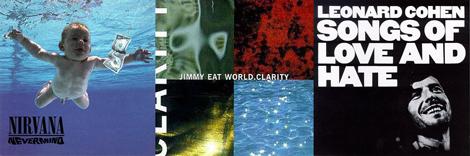 three albums