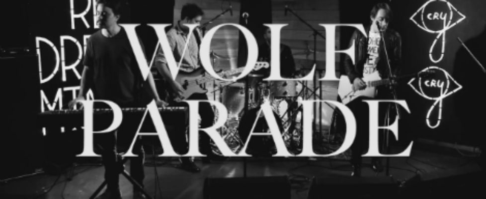wolf parade youre dreaming live